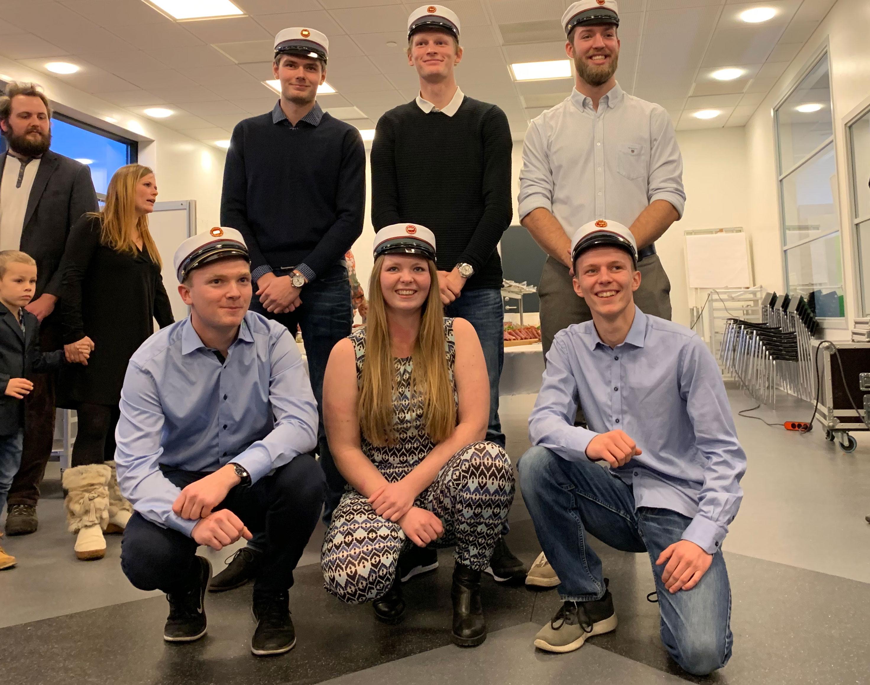 Nyuddannede EUX'ere og ventilationsteknikere fejret i Roskilde