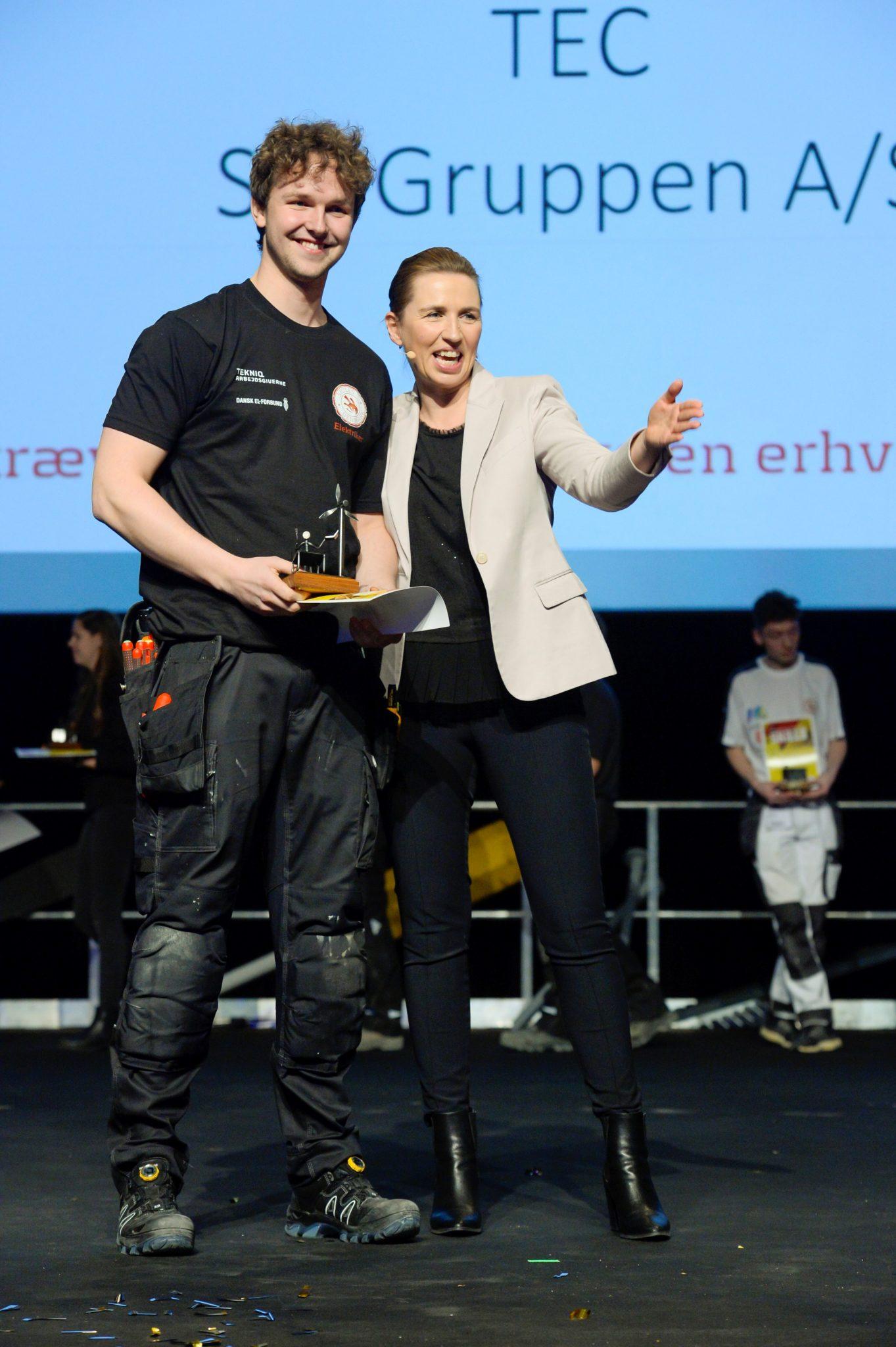 Emil Eigenbrod er Danmarks bedste elektrikerlærling